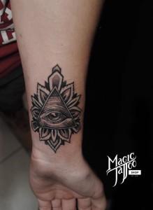 Illuminati tetovalas