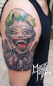 Joker tetoválás