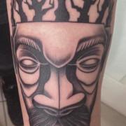 Maszk tetoválás