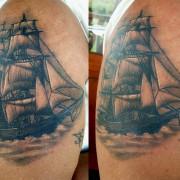 Hajó Tetoválás