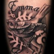 Madár tetoválás