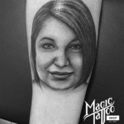 Portré tetoválás