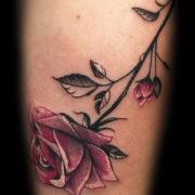 Rózsa tetoválás
