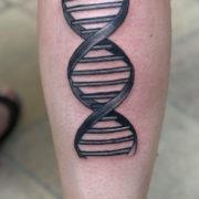 DNS lánc tetoválás