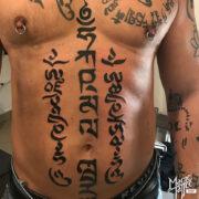 Mantra tetoválás