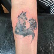 Róka Tetoválás