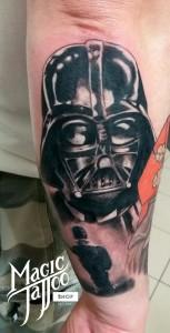 Darth Vader tetoválás