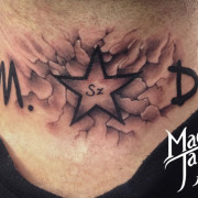 Nyak tetoválás