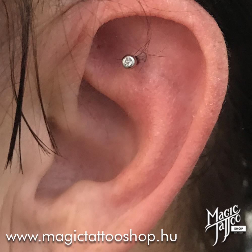 Shenmen piercing
